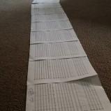 Manuscript in a line